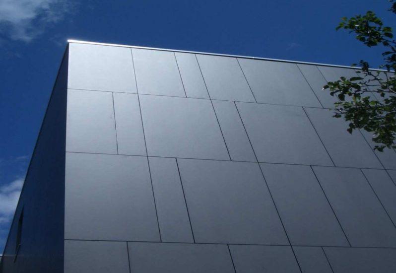 C&A Mainz Faserzement Fassade